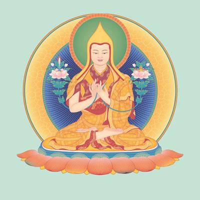 Je Tsongkhapa - Founder New Kadampa Tradition