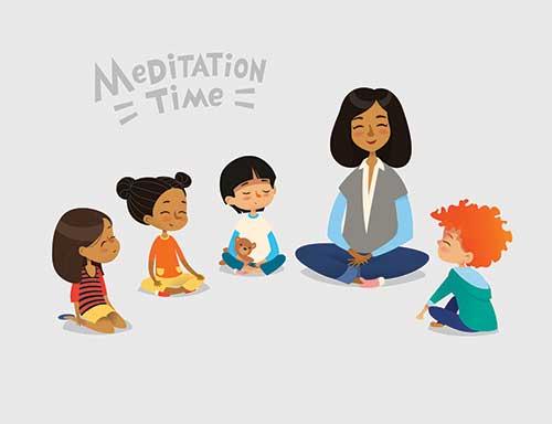 Meditation For Schools - KMC Manchester