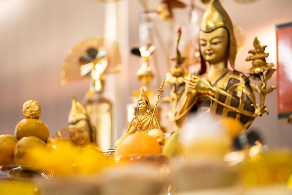 Pujas/Prayers - Offering to the Spiritual Guide